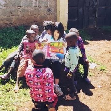 ケニアでチャイルドケア&地域奉仕活動 西川咲希